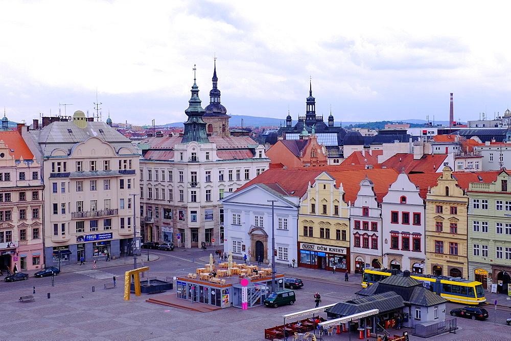 Republic Square, Pilsen (Plzen), West Bohemia, Czech Republic, Europe