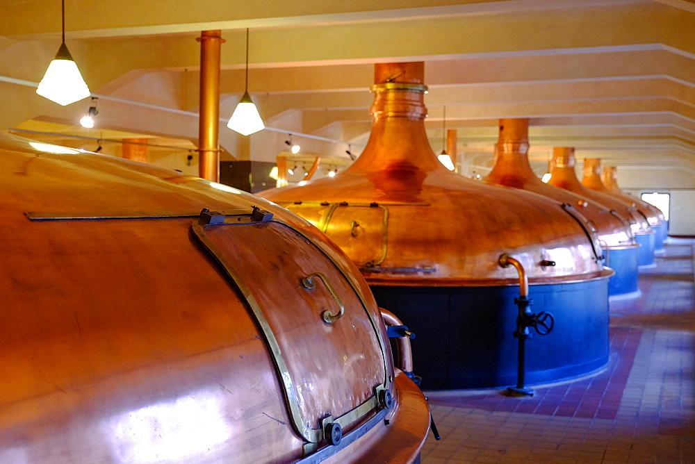 Pilsner Urquell Brewery, Pilsen (Plzen), West Bohemia, Czech Republic, Europe