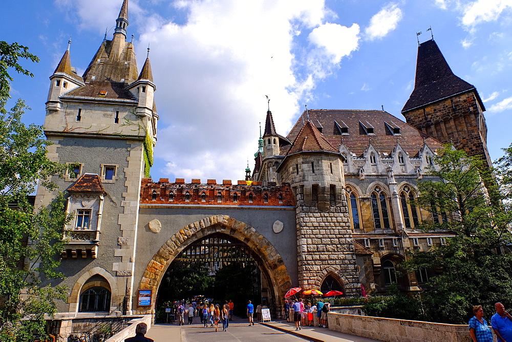 Vajdahunyad Castle, Budapest, Hungary, Europe
