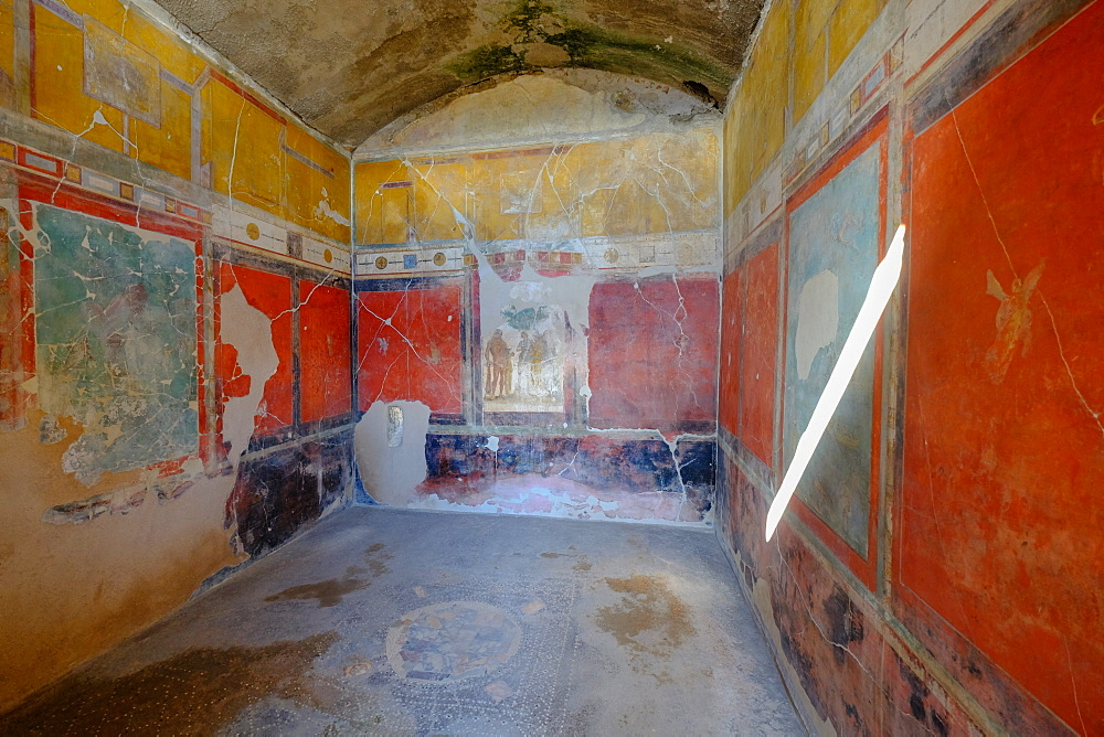 House of Sacerdos Amandus, Pompeii, UNESCO World Heritage Site, the ancient Roman town near Naples, Campania, Italy, Europe