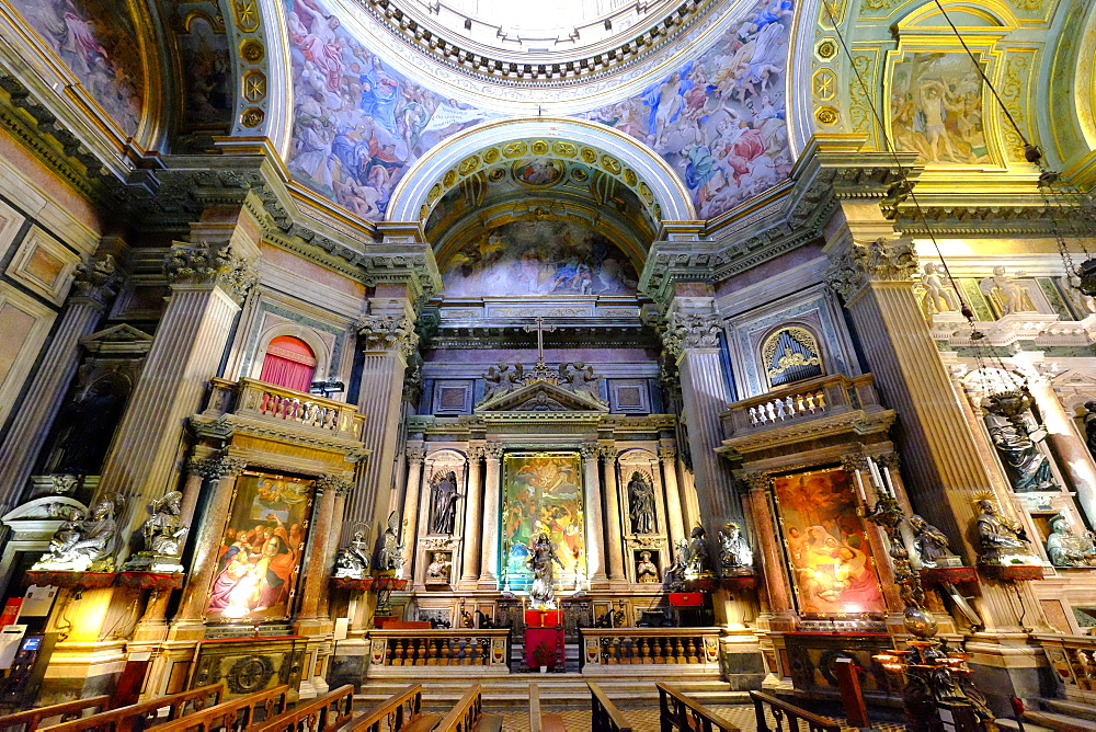 Royal Chapel of the Treasure of San Gennaro, Naples Cathedral, Naples, Campania, Italy, Europe - 819-734