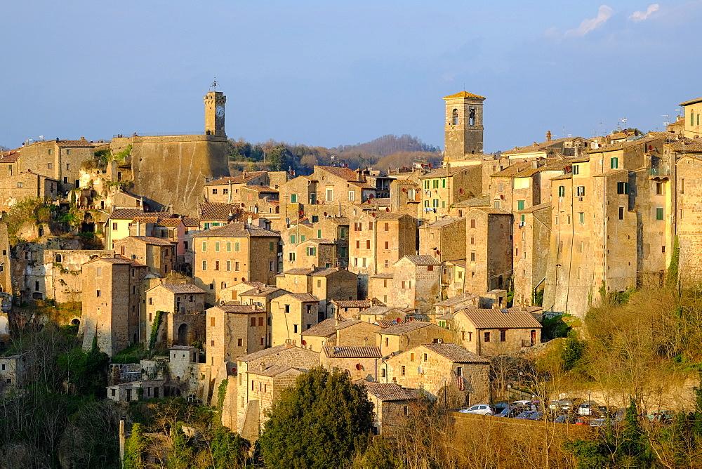 Sorano, Maremma, Grosseto, Tuscany, Italy, Europe