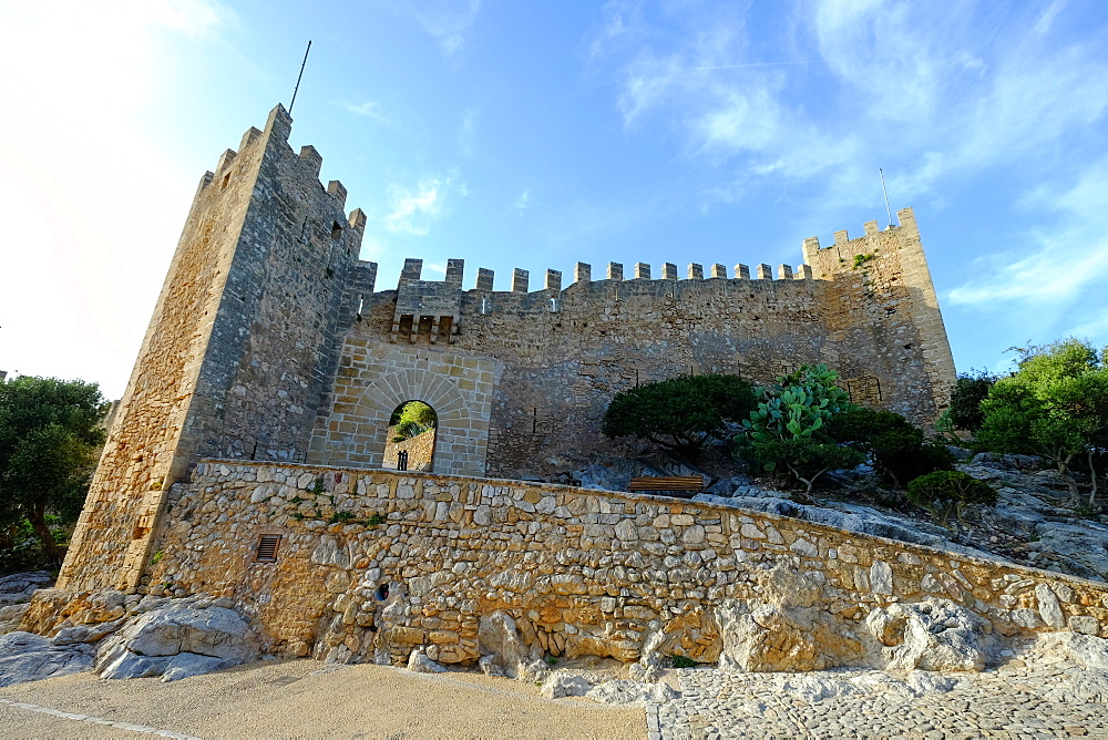 Castell de Capdepera, Majorca, Balearic Islands, Spain, Europe - 819-766