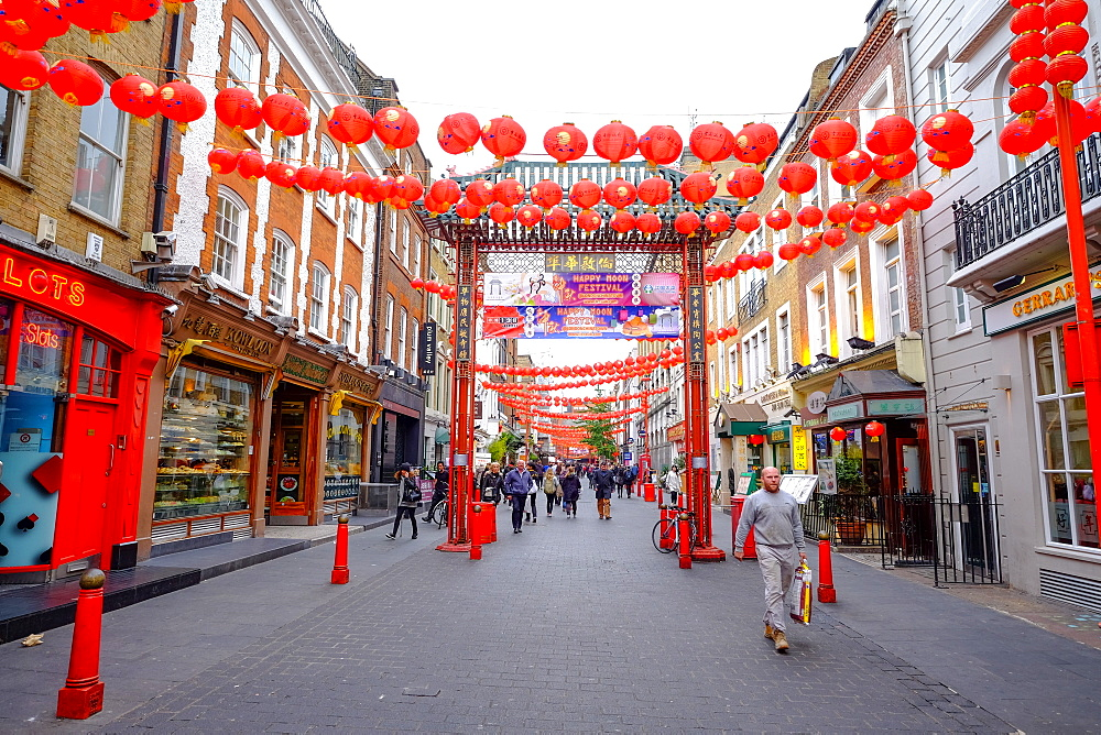 Chinatown, London, England, United Kingdom, Europe - 819-772