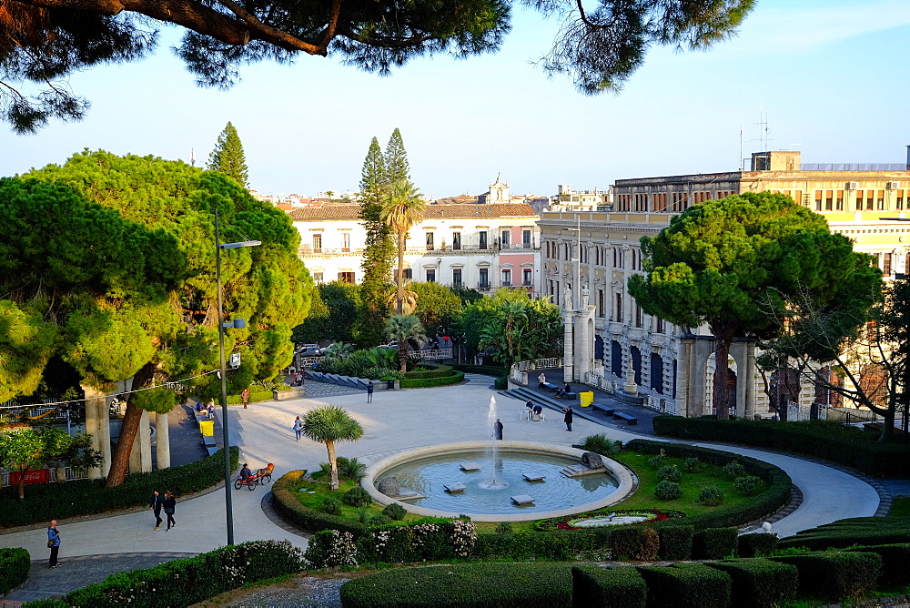 Maestranze Park, Catania, Sicily, Italy, Europe - 819-779