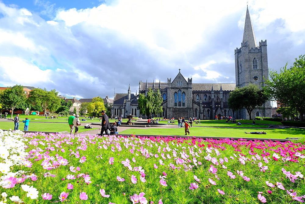 St. Patrick's Park and St. Patrick's Cathedral, Dublin, Republic of Ireland, Europe