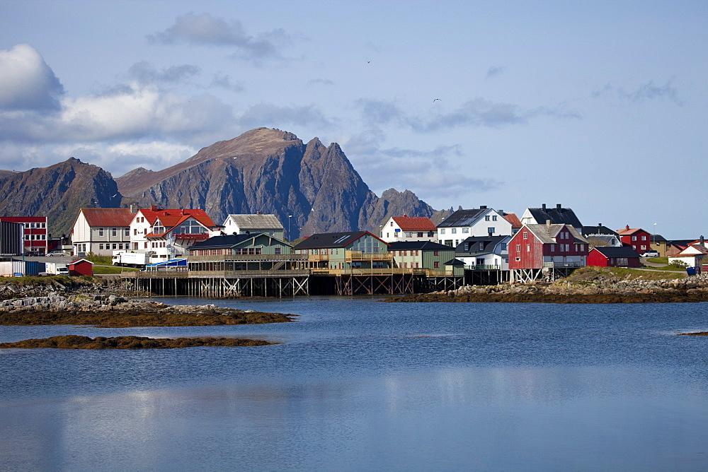 Andenes village, Andoya island, Vesteralen archipelago, Troms Nordland county, Norway, Scandinavia, Europe