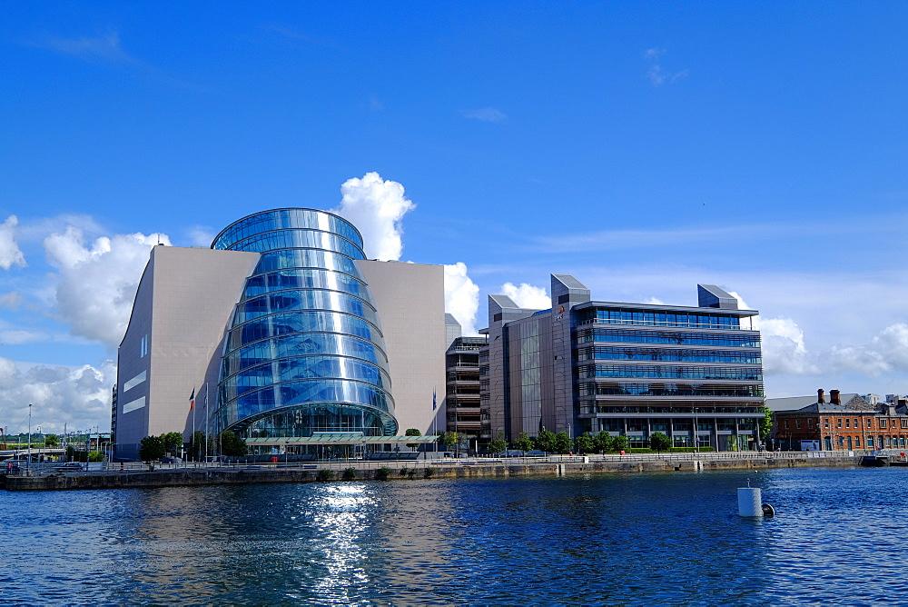The Convention Centre Dublin on the North Quay, Liffey River, Dublin, Ireland, Europe - 819-800