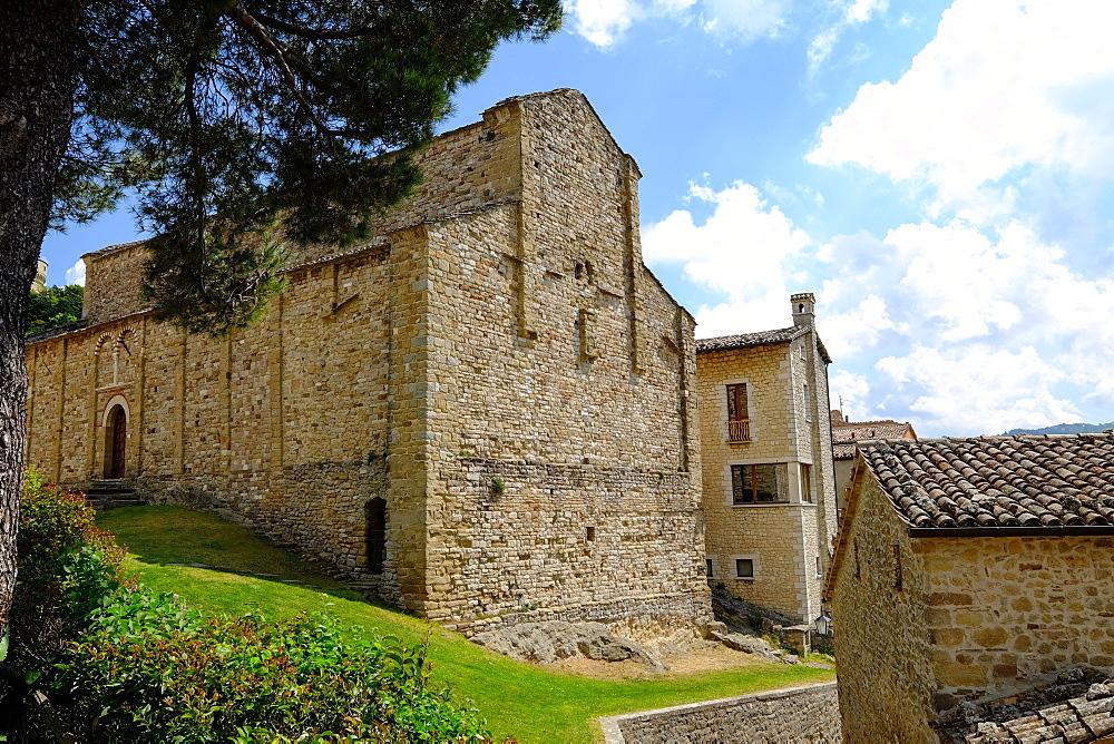 Pieve di Santa Maria Assunta, San Leo, Rimini province, Emilia Romagna, Italy, Europe - 819-888
