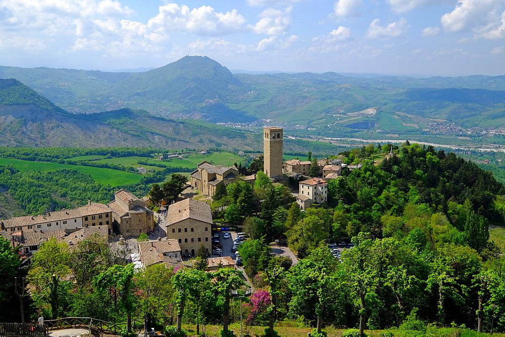 San Leo, Rimini province, Emilia Romagna, Italy, Europe