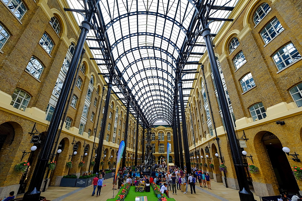 Hay's Galleria, London, England, United Kingdom, Europe