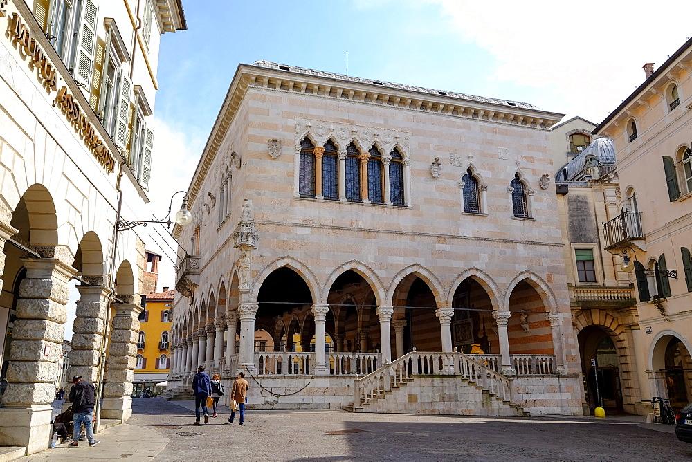 Loggia del Lionello, Udine, Friuli Venezia Giulia, Italy, Europe - 819-934