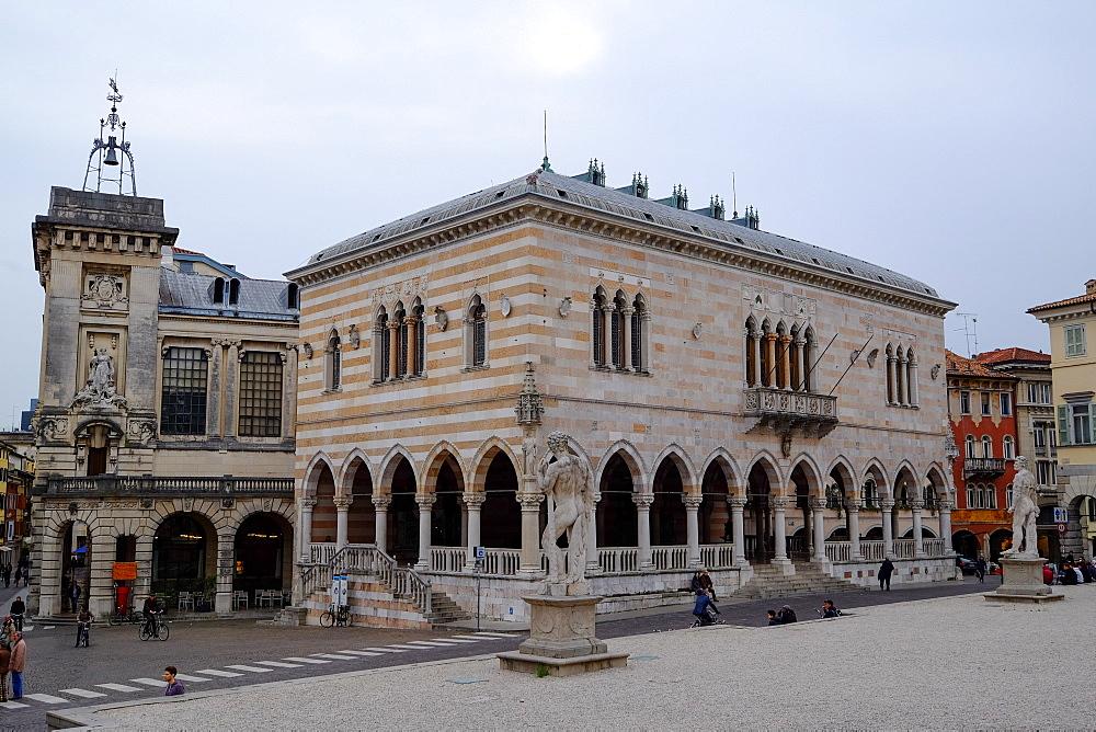 Loggia del Lionello, Piazza della Libert?, Udine, Friuli Venezia Giulia, Italy, Europe
