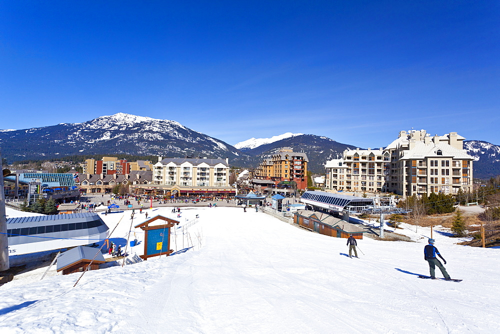 Whistler Blackcomb Ski Resort, Whistler, British Columbia, Canada, North America - 821-153