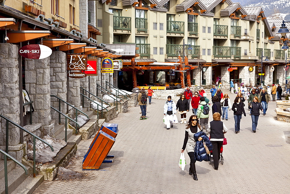 Whistler Blackcomb Ski Resort, Whistler, British Columbia, Canada, North America - 821-162