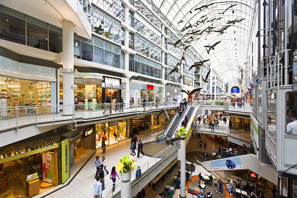 Toronto Eaton Centre Shopping Mall, Toronto, Ontario, Canada, North America - 821-163