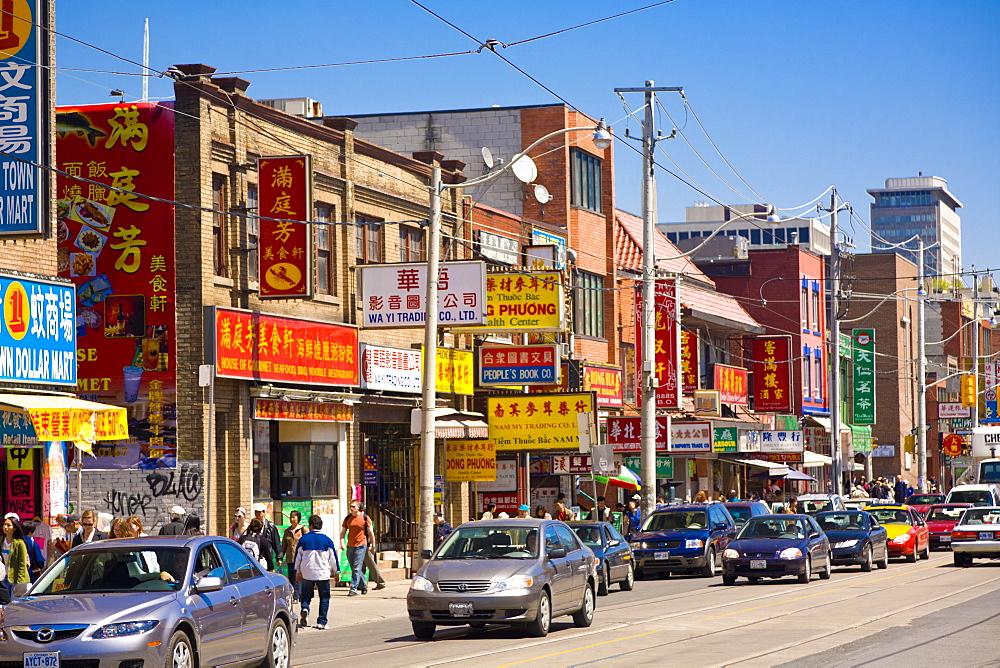 Chinatown, Toronto, Ontario, Canada, North America - 821-178