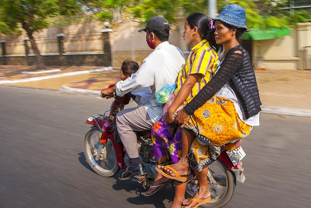 Phnom Penh, Cambodia, Indochina, Southeast Asia, Asia - 821-227