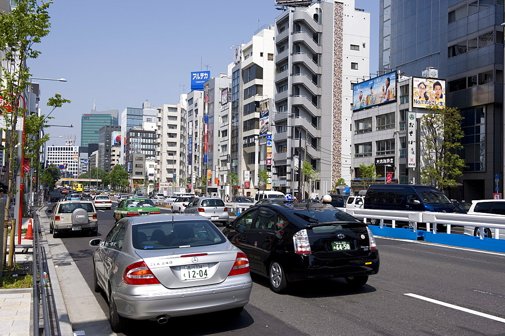 View of Aoyama-dori Street in the Omotesando neighborhood of the Minato ward, Tokyo, Japan, Asia - 822-110