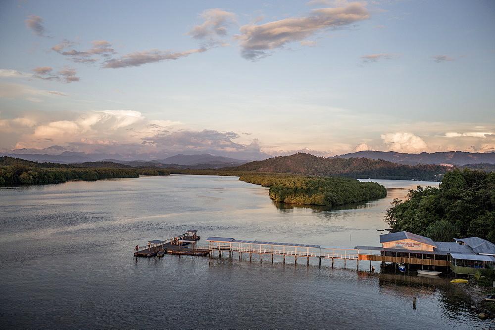 Mengkabong River, Tuaran, Kota Kinabalu, Sabah, Malaysian Borneo, Malaysia, Southeast Asia, Asia  - 824-149