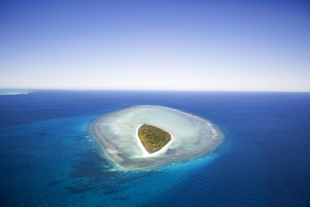 Mast Head Island, Great Barrier Reef, UNESCO World Heritage Site, Queensland, Australia, Pacific - 824-189