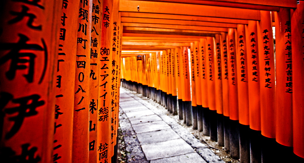 Fushimi Inari, Kyoto, Japan, Asia