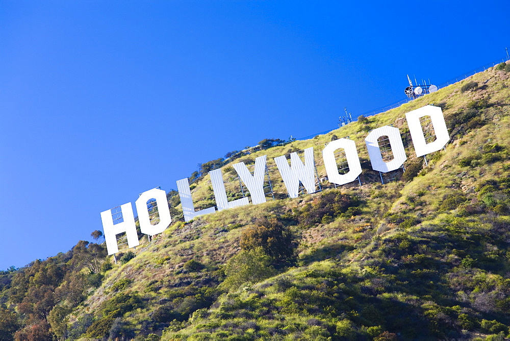 Hollywood sign, Los Angeles, California, United States of America, North America - 825-136