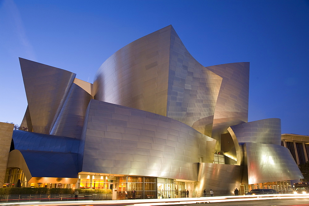 Disney Concert Hall, designed by Frank Gehry, Los Angeles, California, United States of America, North America - 825-137