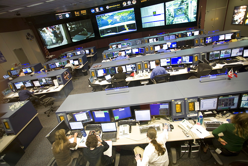 NASA Mission Control, Houston, Texas, United States of America, North America