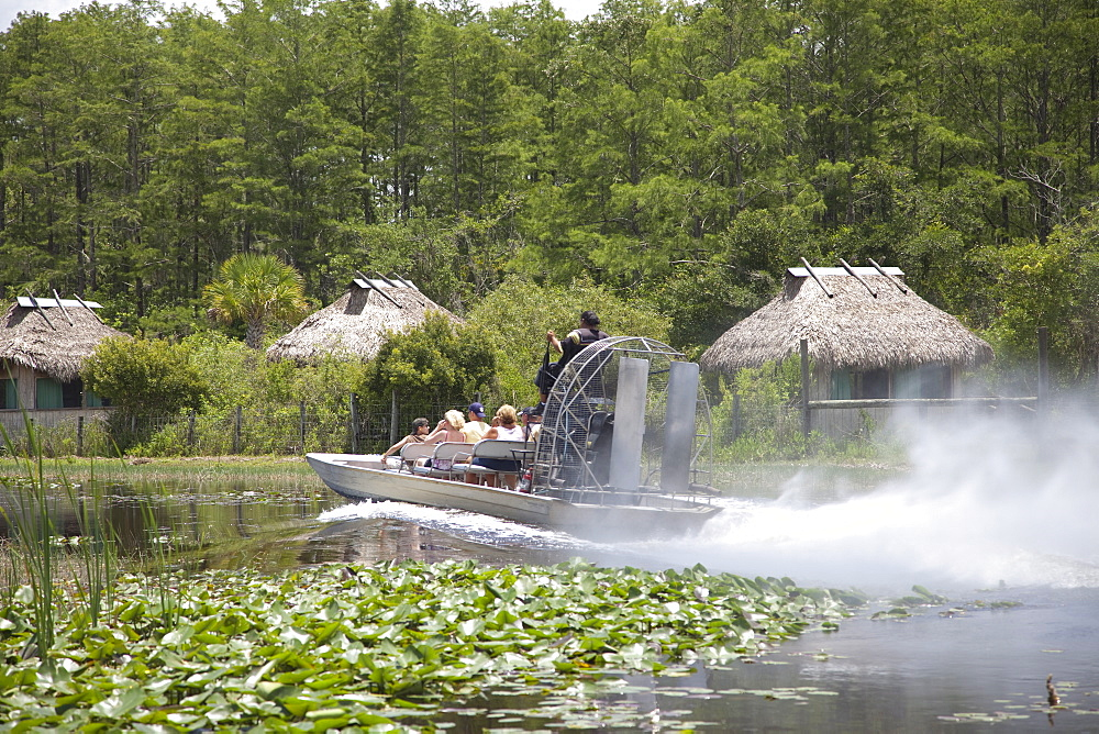 Airboats in the Everglades, Florida, United States of America, North America - 825-219