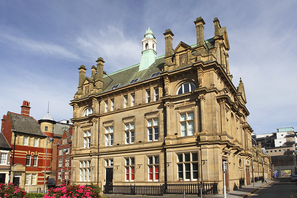 The Edwardian General Post Office, built 1902-03, in Sunderland, Tyne and Wear, England, United Kingdom, Europe