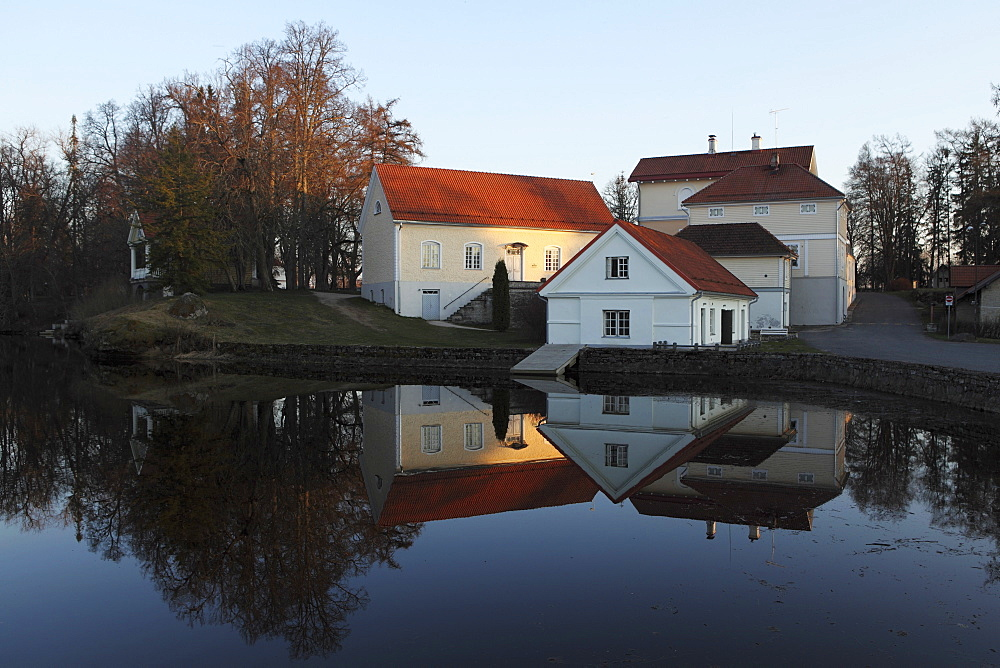 Vihula Manor House, a historic Baltic German property founded in the 16th century, in Lahemaa National Park, Estonia, Europe - 826-594