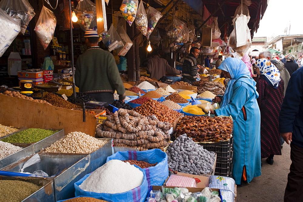 Grocery, medina, Oujda, Oriental Region, Morocco, North Africa, Africa