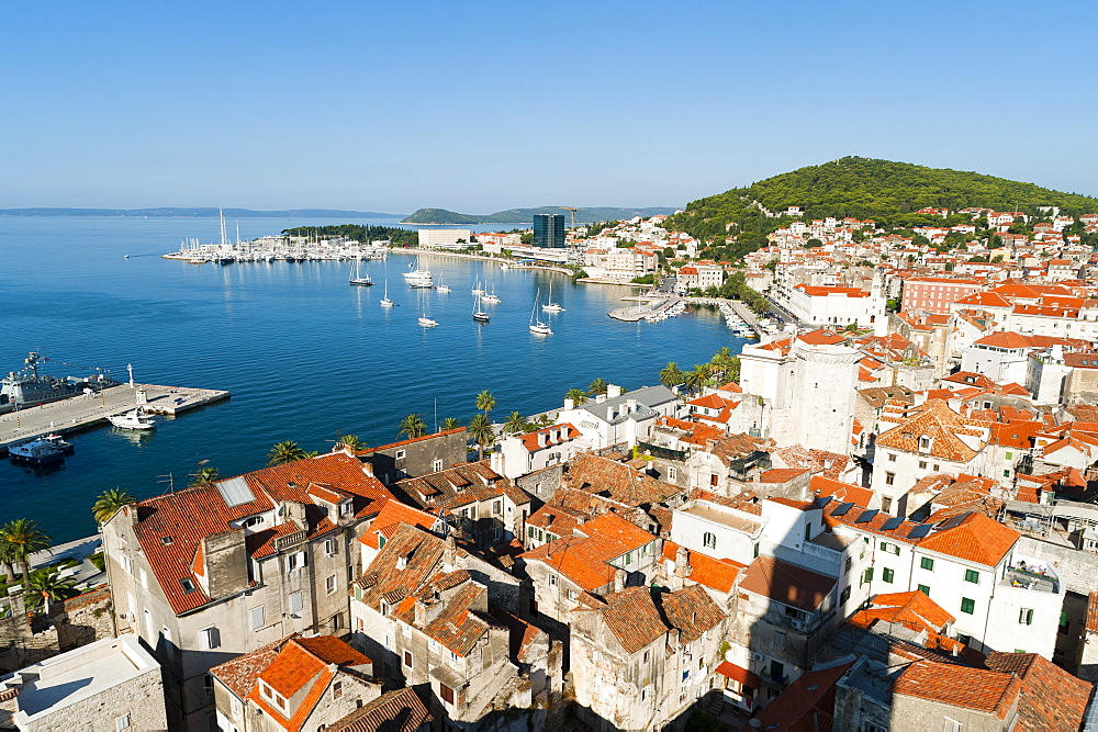 City view of Split, region of Dalmatia, Croatia, Europe - 827-363