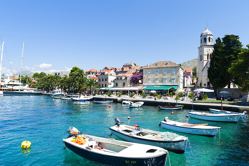 Port of Cavtat, Dubrovnik-Neretva county, Croatia, Europe - 827-404