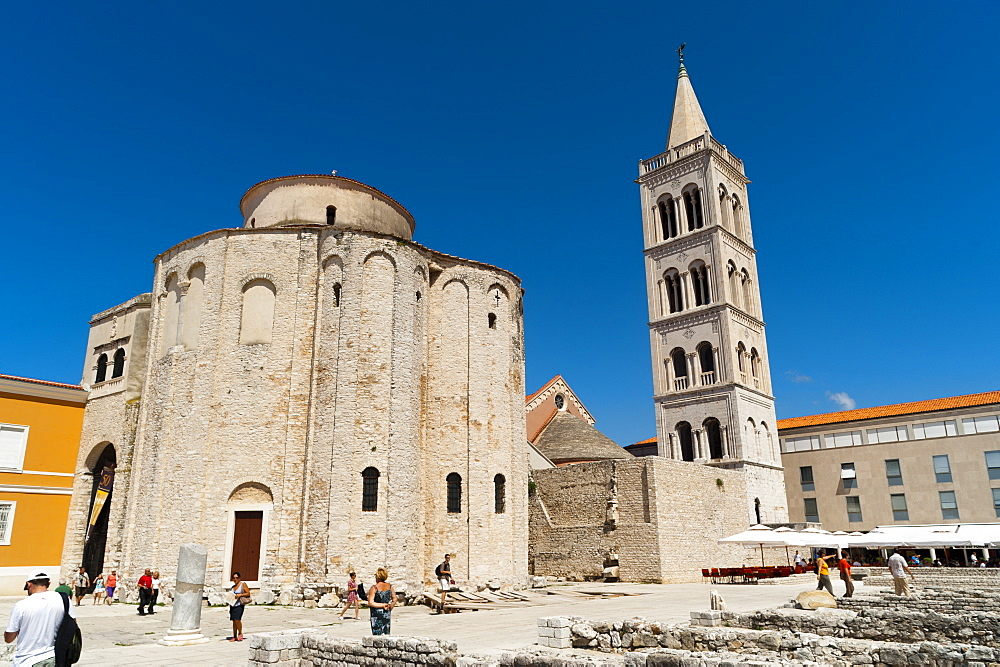 Church of St. Donat, Zadar, Zadar county, Dalmatia region, Croatia, Europe - 827-434