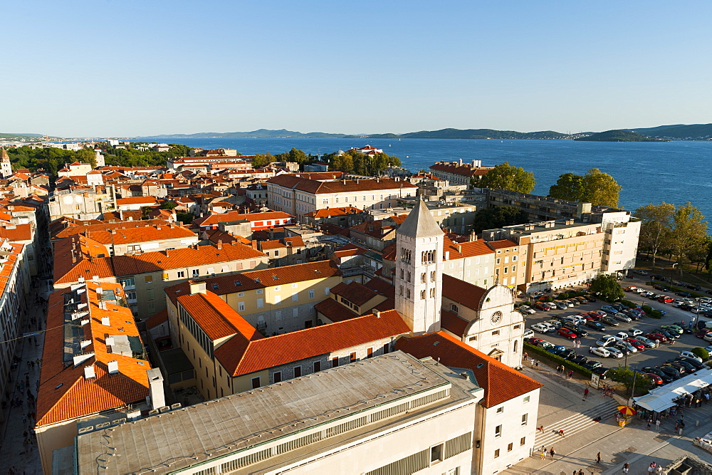 City view, Zadar, Zadar county, Dalmatia region, Croatia, Europe - 827-443