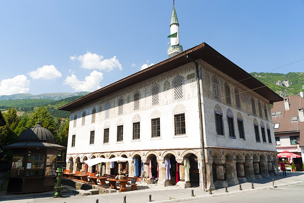Suleimania mosque, Travnik, Municipality of Travnik, Bosnia and Herzegovina, Europe - 827-485