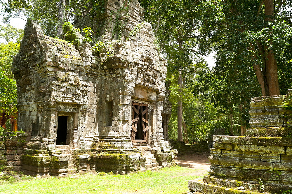 Angkor Thom, UNESCO World Heritage Site, Angkor, Siem Reap, Cambodia, Indochina, Southeast Asia, Asia - 827-515