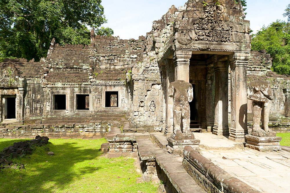 Preah Khan, UNESCO World Heritage Site, Angkor, Siem Reap, Cambodia, Indochina, Southeast Asia, Asia - 827-516