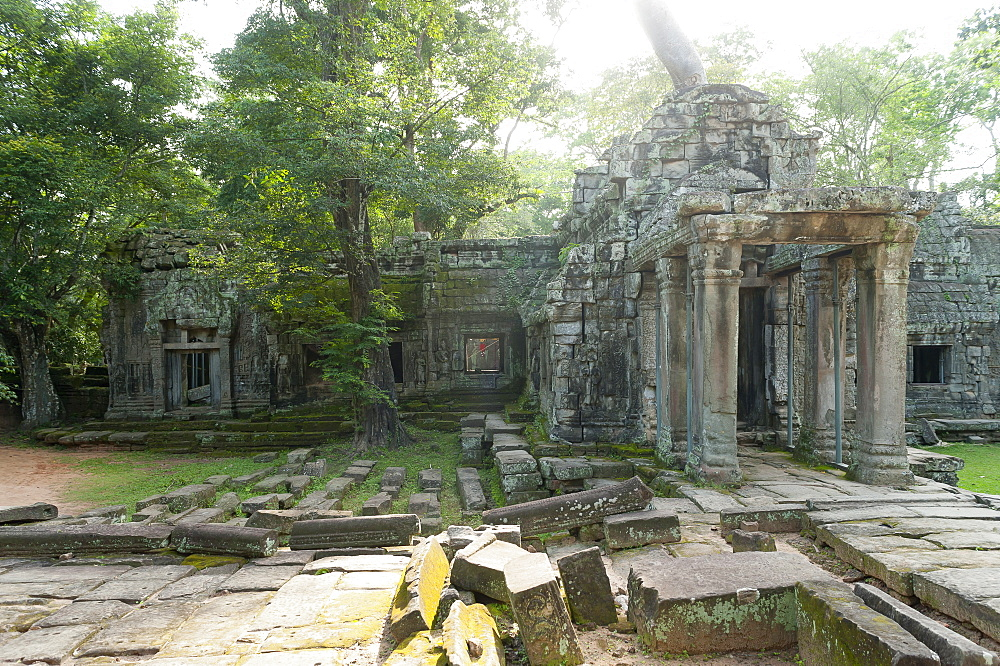 Preah Khan, UNESCO World Heritage Site, Angkor, Siem Reap, Cambodia, Indochina, Southeast Asia, Asia - 827-517