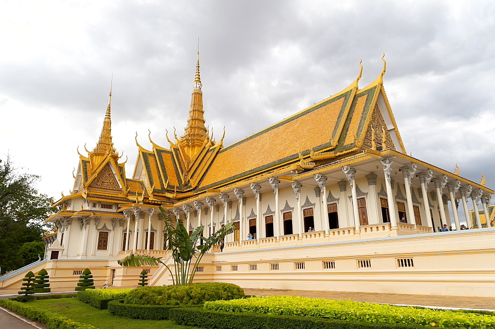 Throne Hall, Royal Palace, Phnom Penh, Cambodia, Indochina, Southeast Asia, Asia - 827-525