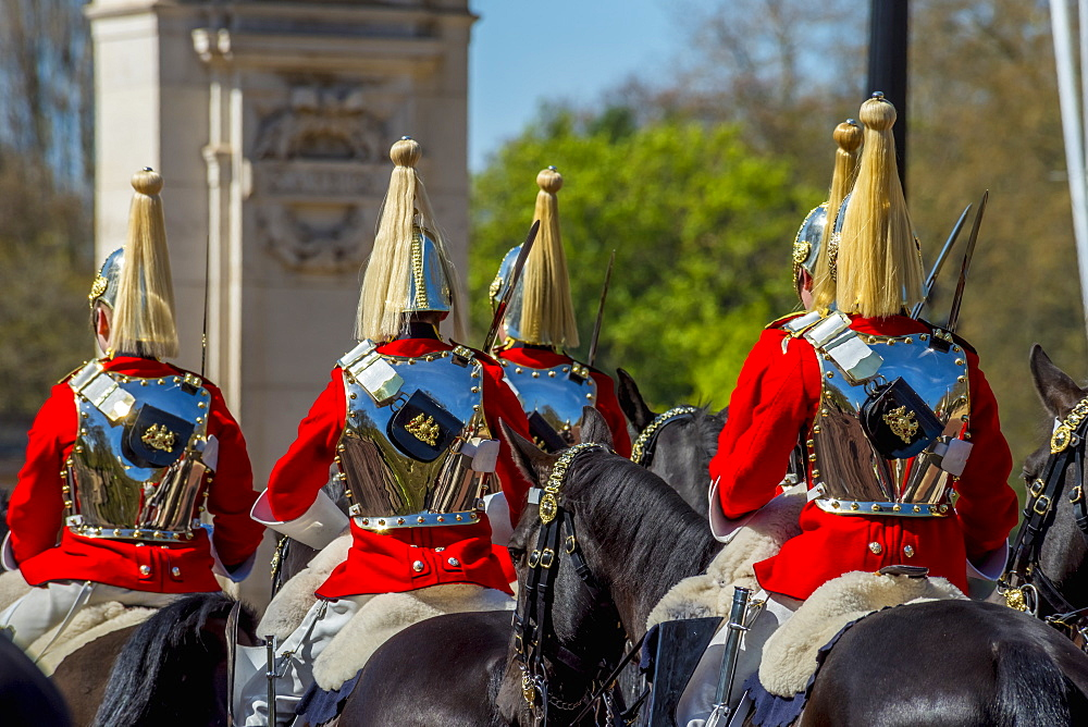 Changing of the Guard, The Mall, Buckingham Palace, London, England, United Kingdom, Europe
