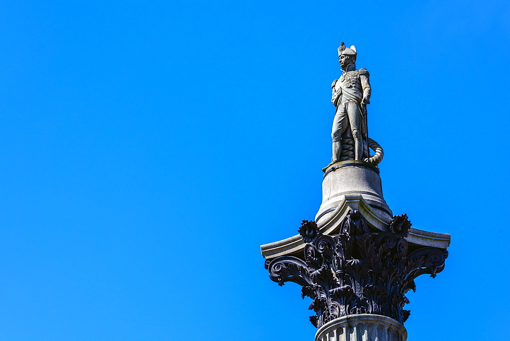 UK, England, London, Trafalgar Square, Nelson's Column