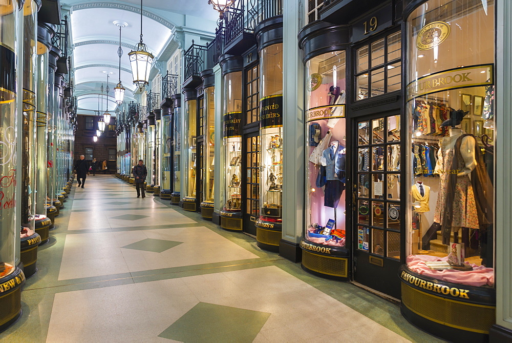 UK, England, London, Jermyn Street, Piccadilly Arcade