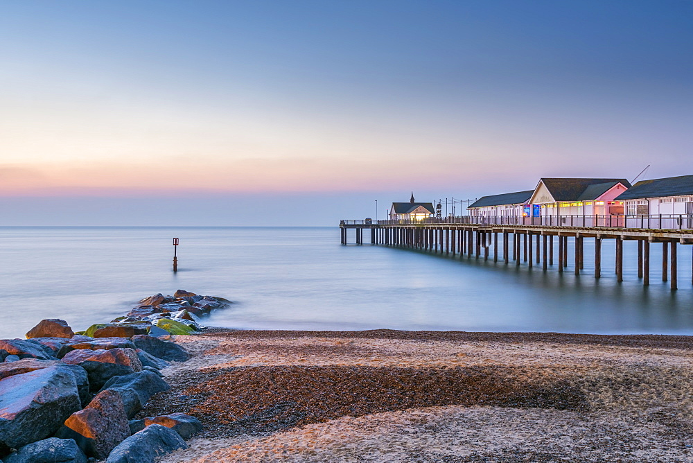 Southwold Pier, Southwold, Suffolk, England, United Kingdom, Europe