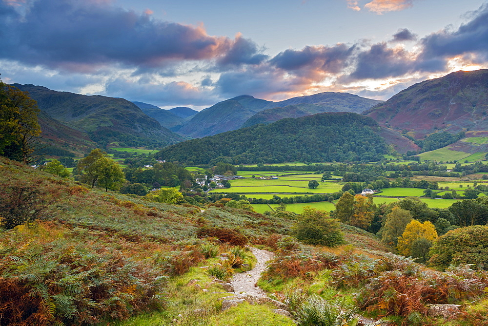 Rosthwaite, Borrowdale, Lake District National Park, Cumbria, England, United Kingdom, Europe - 828-1050