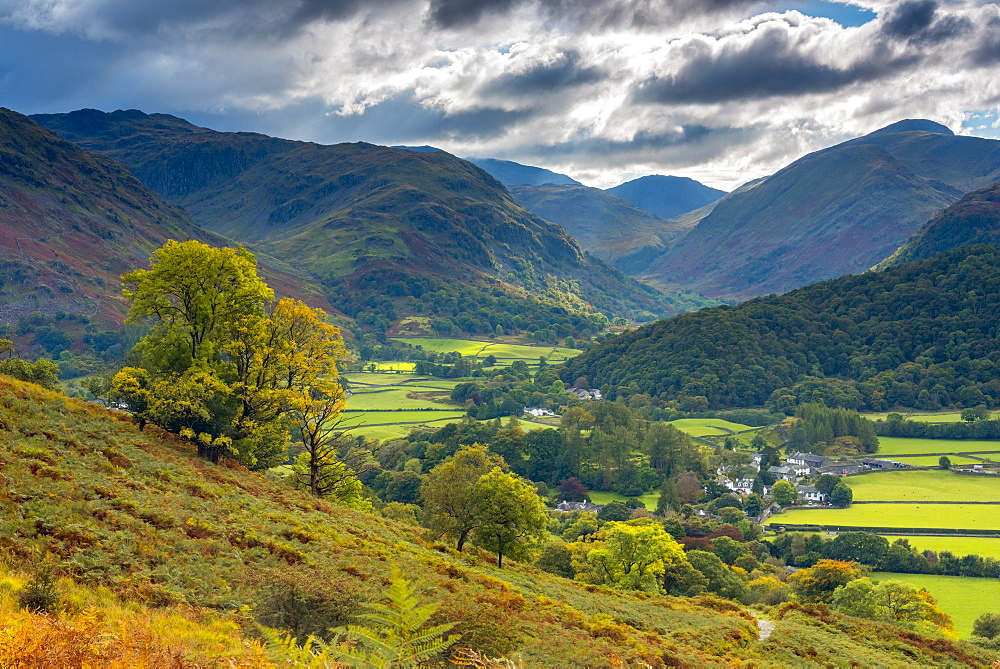 Rosthwaite, Borrowdale, Lake District National Park, Cumbria, England, United Kingdom, Europe - 828-1053