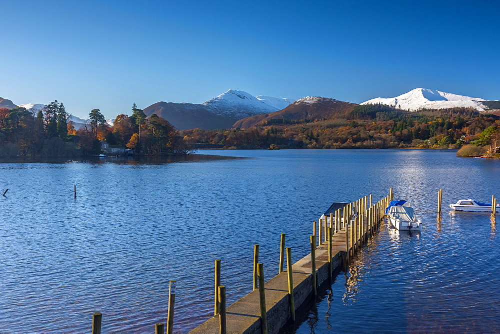 Derwentwater, Keswick, Lake District National Park, Cumbria, England, United Kingdom, Europe