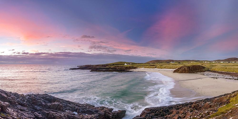 Clachtoll Beach, Clachtoll, Sutherland, Highlands, Scotland, United Kingdom, Europe